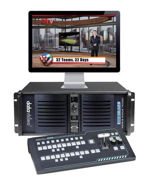 استودیو مجازی Datavideo مدل TVS-1200