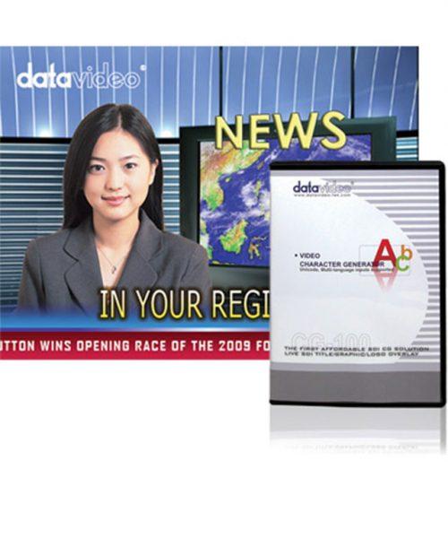 نرم ا فزار مولد کاراکتر SD شرکت Datavideo سری CG-100