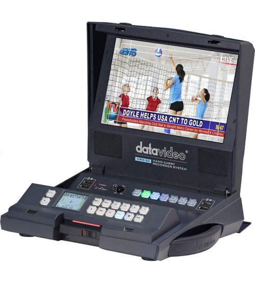 ضبط کننده قابل حمل مانیتور دار Datavideo مدل HRS-30