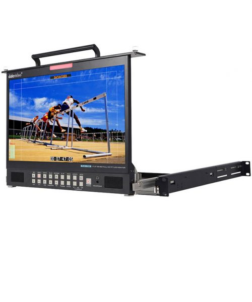 مانیتور رکمونت 17.3 اینچ تمام Datavideo HD مدل TLM-170PM