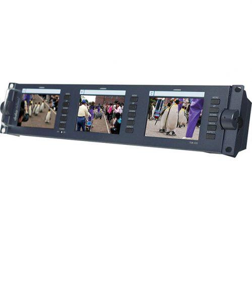 مجموعه 3 مانیتور 4.3 اینچ رکمونت Datavideo مدل TLM-433