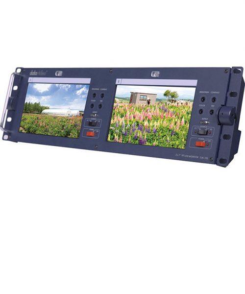 مجموعه 2 مانیتور 7 اینچ رکمونت Datavideo مدل TLM-702