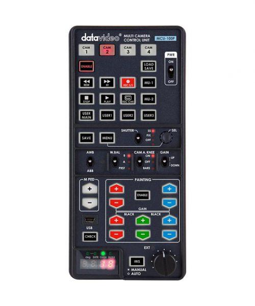 کنترلر دوربین پاناسونیک دیتاویدئو مدل MCU-100P  <br> <span style='color:#949494;font-size:11px; class='secondary'> Datavideo MCU-100P Multi-Camera Control Unit - Panasonic </span>