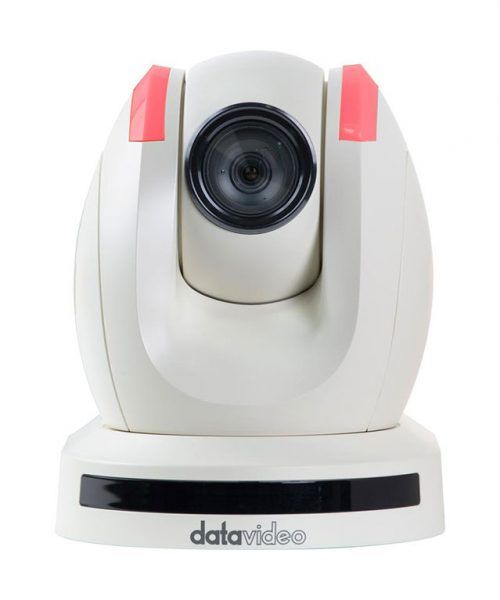 دوربین سفید HD/SD PTZ دیتاویدئو مدل PTC-150TW  <br> <span style='color:#949494;font-size:11px; class='secondary'> Datavideo PTC-150TW HD/SD PTZ Video Camera </span>