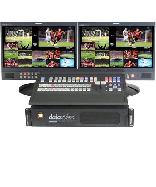 سوئیچر دیجیتال 12 کانال دیتاویدئو مدل SE-2850  <br> <span style='color:#949494;font-size:11px; class='secondary'> Datavideo SE-2850 </span>