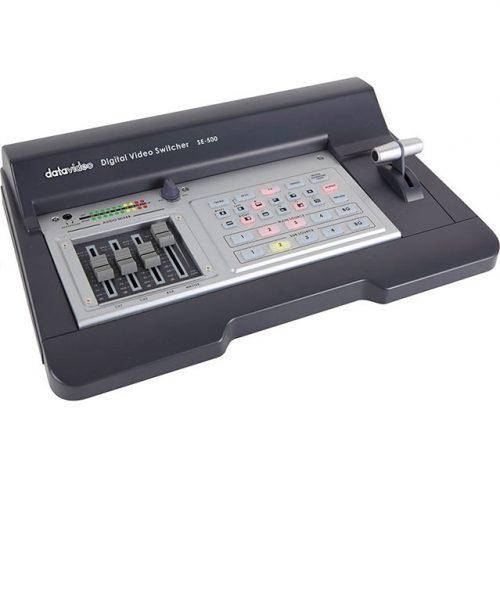سوئیچر ویدئوی 4 کانال دیتاویدئو مدل SE-500  <br> <span style='color:#949494;font-size:11px; class='secondary'> Datavideo SE-500 Video Switcher </span>