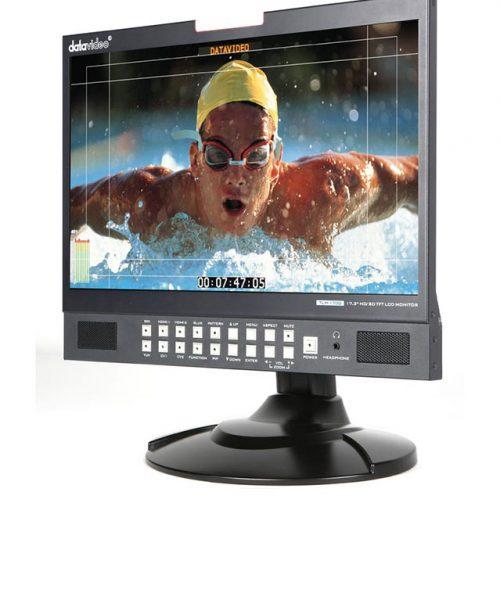 """مانیتور رومیزی 17.3 اینچ HD/SD دیتاویدئو مدل TLM-170G  <br> <span style='color:#949494;font-size:11px; class='secondary'> Datavideo TLM-170G 17.3"""" HD/SD TFT LCD Monitor </span>"""