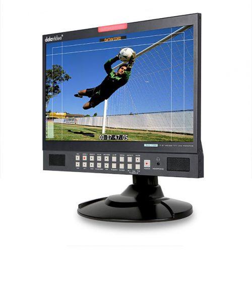 """مانیتور رومیزی 17.3 اینچ تمام HD دیتاویدئو مدل TLM-170P  <br> <span style='color:#949494;font-size:11px; class='secondary'> Datavideo TLM-170P 17.3"""" HD/SD TFT LCD Monitor </span>"""