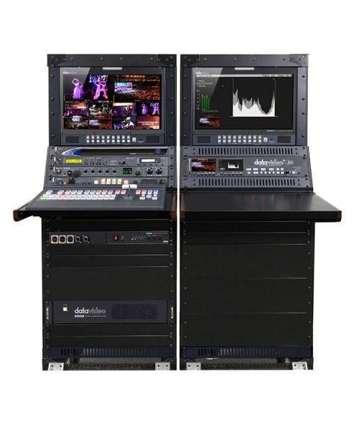 استودیو سیار 12/8 دیتاویدئو مدل OBV-2850A  <br> <span style='color:#949494;font-size:11px; class='secondary'> Datavideo OBV-2850 Mobile Video Studio </span>