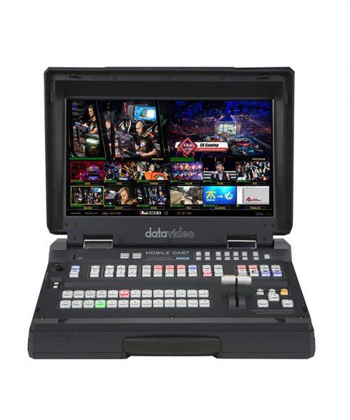 استودیو سیار دیتاویدئو مدل HS-3200  <br> <span style='color:#949494;font-size:11px; class='secondary'> Datavideo HS-3200 Portable Video Streaming Studio </span>