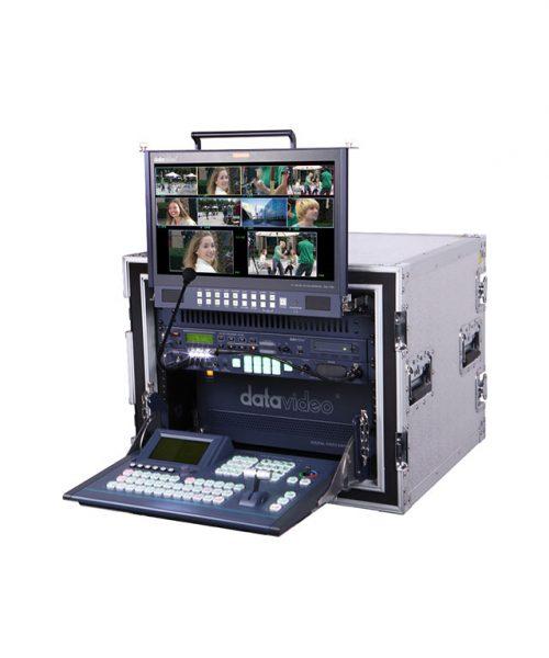 استودیو سیار 8 کانال دیتاویدئو مدل MS-900  <br> <span style='color:#949494;font-size:11px; class='secondary'> Datavideo MS-900 Mobile studio </span>