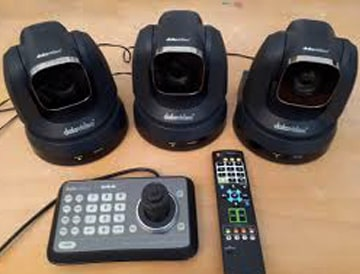 دوربین و کنترل کننده دیتاویدئو