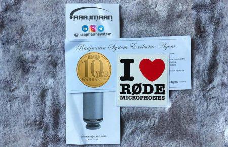 آموزش دریافت گارانتی 10 سال محصولات Rode